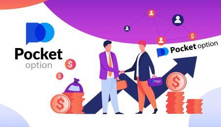 Comment rejoindre le programme d'affiliation et devenir partenaire dans Pocket Option