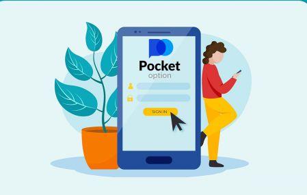 Comment s'inscrire et se connecter à un compte dans Pocket Option Broker Trading